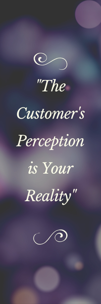 Customer's perception quote