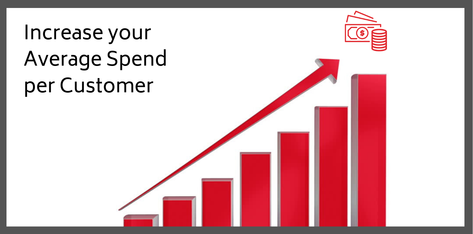 Top 5 Ways to Increase your Average Spend per Customer