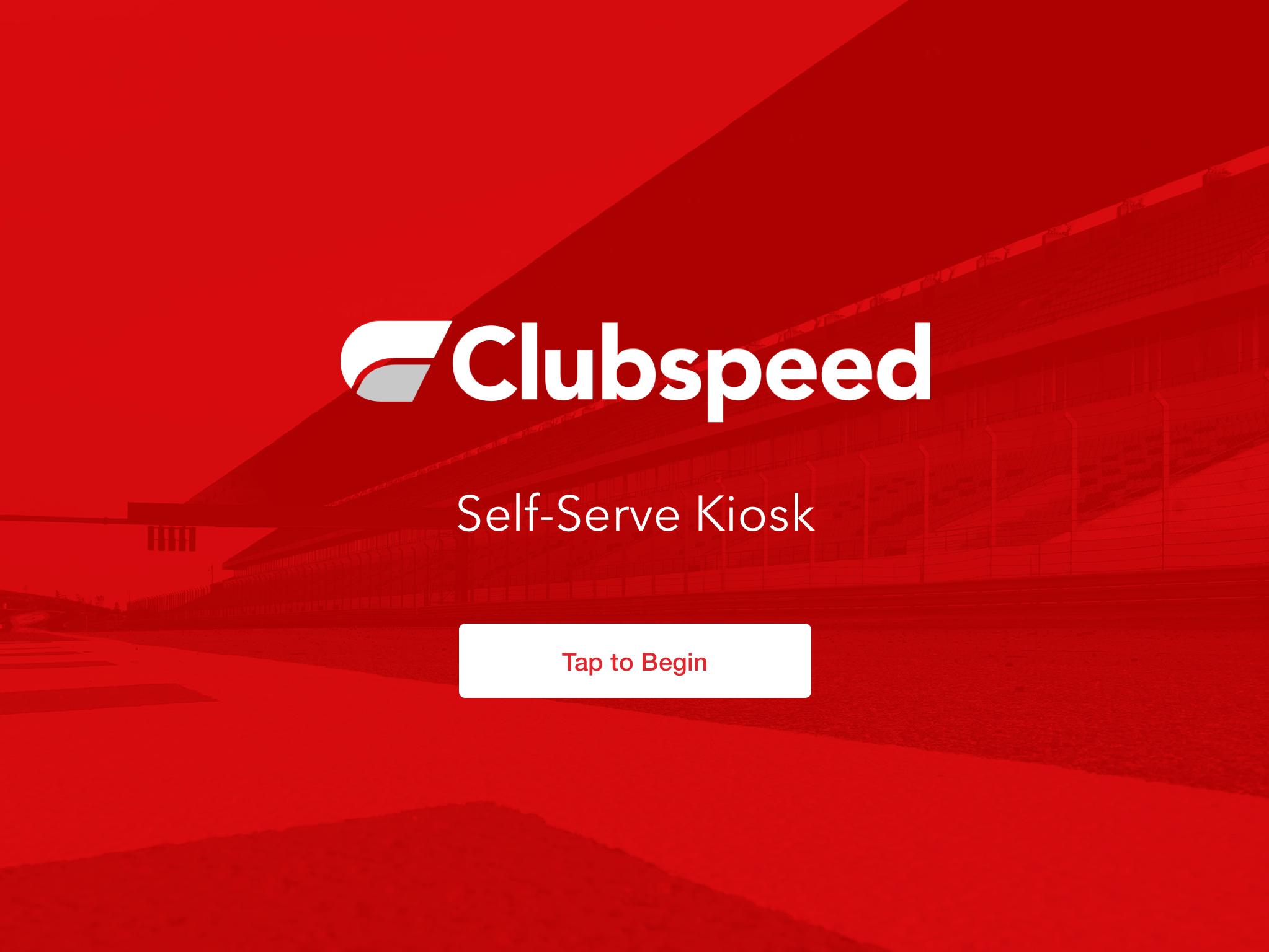 Clubspeed's Self-Service Kiosk